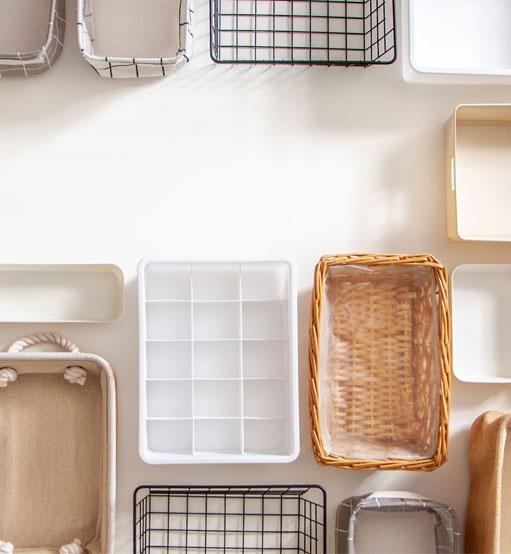 Organization boxes